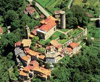 Castello di Bagnone from above